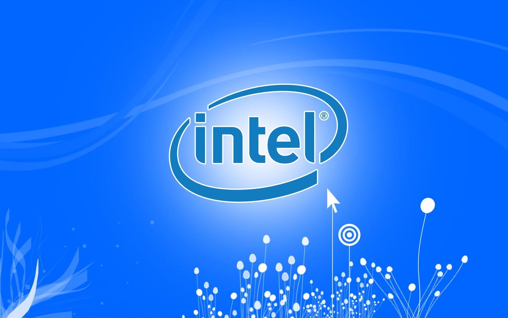 фото intel логотип