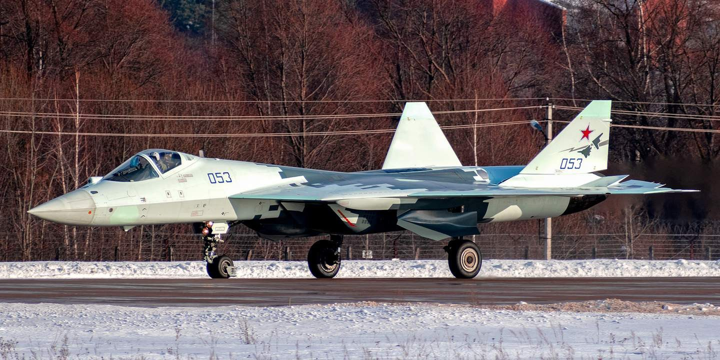 Su-57 Stealth Fighter: News #5 - Page 34 154834981133